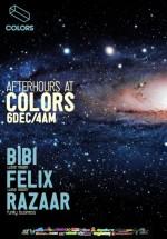 Bibi, Felix şi Razaar în Colors Club din Bucureşti
