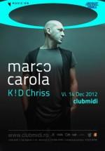 Marco Carola în Club Midi din Cluj-Napoca