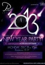 New Year Party în Prive Le Club din Bucureşti