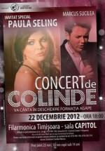 Concert de Colinde Paula Seling la Filarmonica Banatul din Timişoara