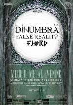 Concert DinUmbră, False Reality şi Fjord în Ageless Club din Bucureşti