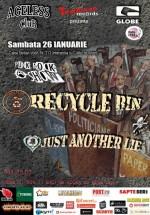 Concert Recycle Bin în Ageless Club din Bucureşti