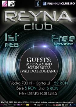 MoonSound, Sorin Milea şi Vali Dobrogeanu în Reyna Club din Bucureşti