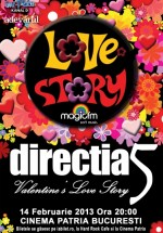 Concert Direcţia 5 de Valentine's Day la Cinema Patria din Bucureşti