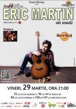 Concert Eric Martin (Mr. BIG) în Hard Rock Cafe din Bucureşti