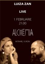 Concert LIVE Luiza Zan în Alchemia din Bucureşti