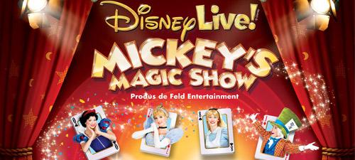 A fost suplimentat numărul spectacolelor Mickey's Magic Show la Bucureşti