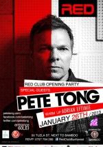 Opening Party – Pete Tong în Red Club din Bucureşti