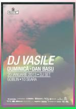 DJ Vasile în Club Goblin din Bucureşti