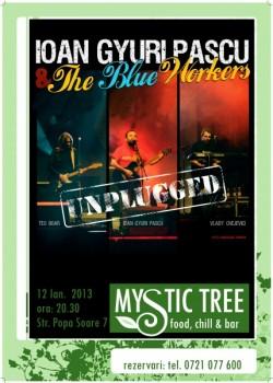 Concert unplugged Ioan Gyuri Pascu în Mystic Tree din Bucureşti