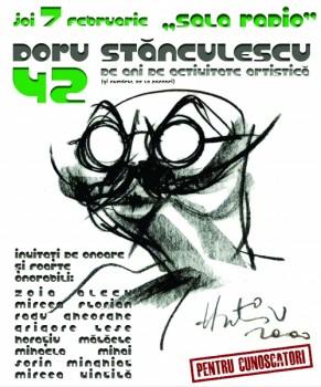Concert aniversar Doru Stănculescu la Sala Radio din Bucureşti