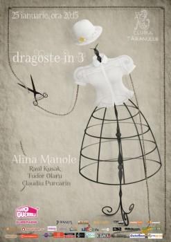 Concert Alina Manole şi Raul Kusak la Clubul Ţăranului din Bucureşti