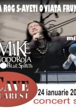 Concert Mike Godoroja în La Cave de Bucharest