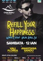 Refill your happiness – Winter Edition la Telescaun Casa Baraj din Crivaia
