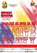 Romanian Hits Party în Shakespeare Bar din Bucureşti