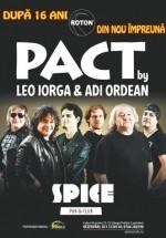 Concert PACT (Leo Iorga şi Adi Ordean) în Spice Club din Bucureşti