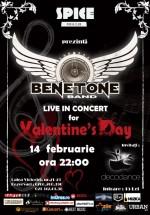 Concert Benetone în Spice Club din Bucureşti