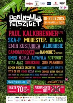 Festivalul Peninsula 2013 la Cluj-Napoca