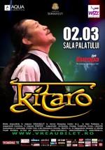 Concert Kitaro la Sala Palatului din Bucureşti