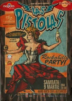 Concert Las Pistolas la Hard Rock Cafe din Bucureşti