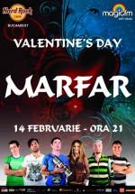 Concert Marfar în Hard Rock Cafe din Bucureşti