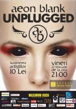 Concert unplugged Aeon Blank în Club Prometheus din Bucureşti