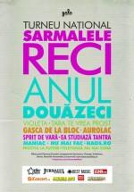 Turneu naţional aniversar Sarmalele Reci – Anul douăzeci