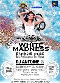 White Madness – Electric Sound 2013 la Târgu Mureş