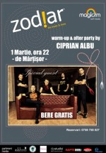 Concert Bere Gratis – de Mărţisor în Club Zodiar din Galaţi