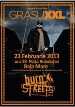 Concert Grasu XXL la Burn The Streets în Piaţa Revoluţiei din Baia-Mare