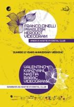 Sunrise 12 Years Anniversary în Kristal Club din Bucureşti