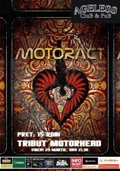 Concert MotorACT în Ageless Club din Bucureşti