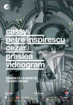 Cassy, Petre Inspirescu, Cezar şi Prâslea la Casino Sinaia