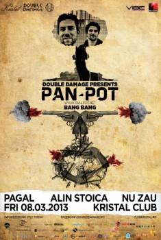 Pan-Pot în Kristal Club din Bucureşti