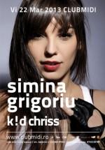 Simina Grigoriu în Club Midi din Cluj-Napoca