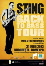 Concert Sting la Romexpo din Bucureşti