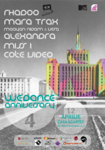 WeDance 4th Anniversary la Casa Presei Libere din Bucureşti