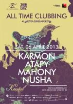 Alltimeclubbing's 4th Anniversary Party în Kristal Club din Bucureşti