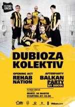 Concert Dubioza Kolektiv în Flying Circus Pub din Cluj-Napoca