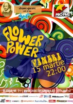Flower Power Party în Shakespeare Bar din Bucureşti