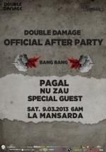 Double Damage Official Afterparty în La Mansardă din Bucureşti