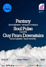 Pantany, Soul Pulse şi Guy from Downstairs în Carol 53 din Bucureşti