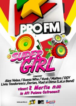 ProFM SuperGirl la AFI Palace Cotroceni din Bucureşti