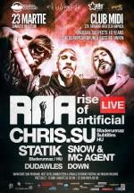 R.O.A. LIVE, Chris.Su şi Statik în Club Midi din Cluj-Napoca