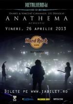 Concert Anathema în Hard Rock Cafe din Bucureşti (CONCURS)