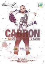 Concert Cabron în Barletto Club din Bucureşti