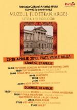 """Festivalul """"Muzeul Judeţean Argeş – Istorie şi Ecologie"""" 2013 la Piteşti"""