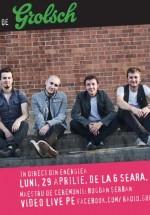 Concert Grimus la GuerriLIVE Acoustic Session în Energiea din Bucureşti