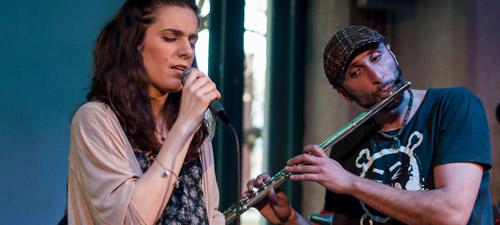 POZE: Irina Sârbu & Marius Mihalache Band la GuerriLIVE Acoustic Session