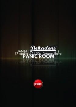 DJ Set by Janin Pasniciuc în Panic! Club din Bucureşti